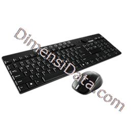 Jual Keyboard PROLINK Wireless Desktop Combo [PCML-5307G]